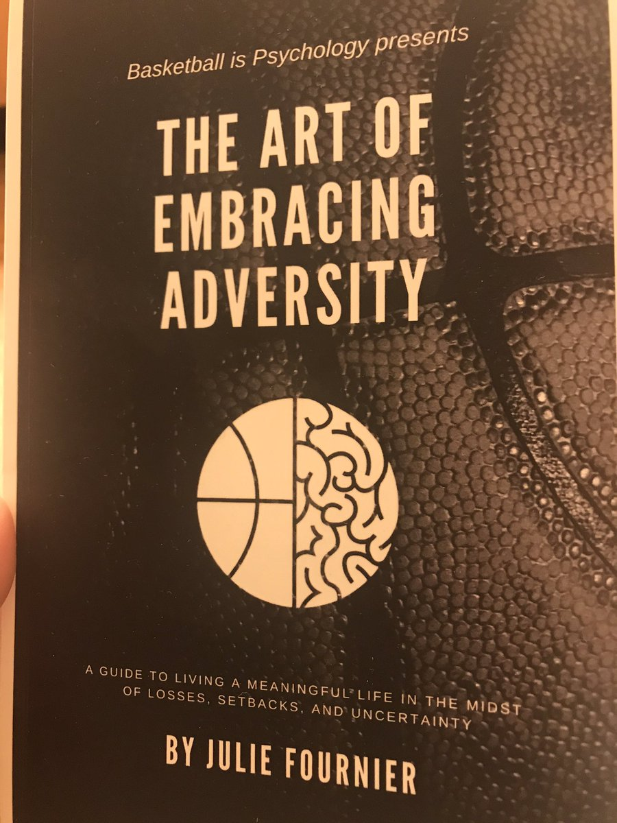 Just finished @BallisPsych new read!! Great book! Highly recommend to any athlete at any level!! 🏀💪🏼
