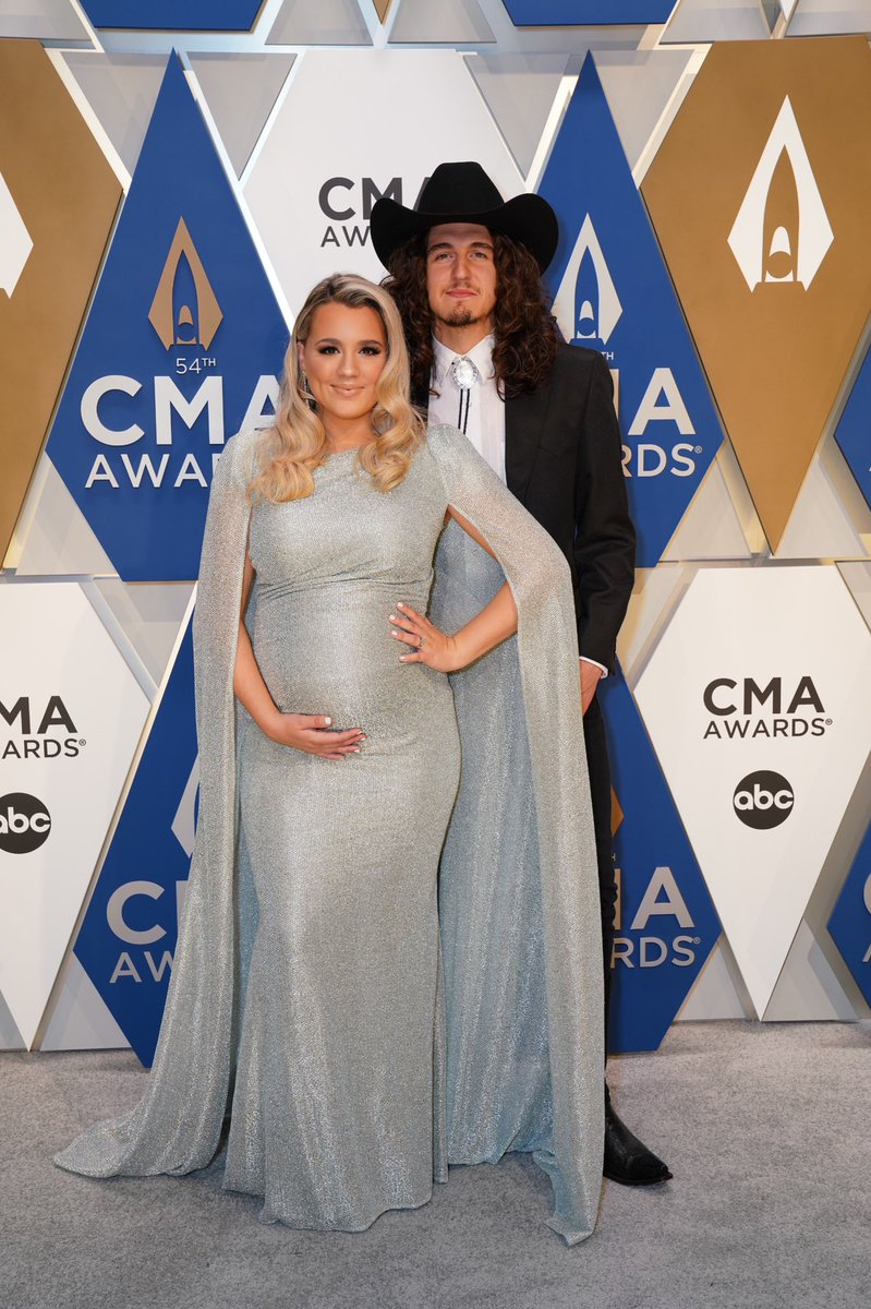 The 3 of us.. ✨ What an honor to be apart of @CountryMusic this year. Thank y'all so much.