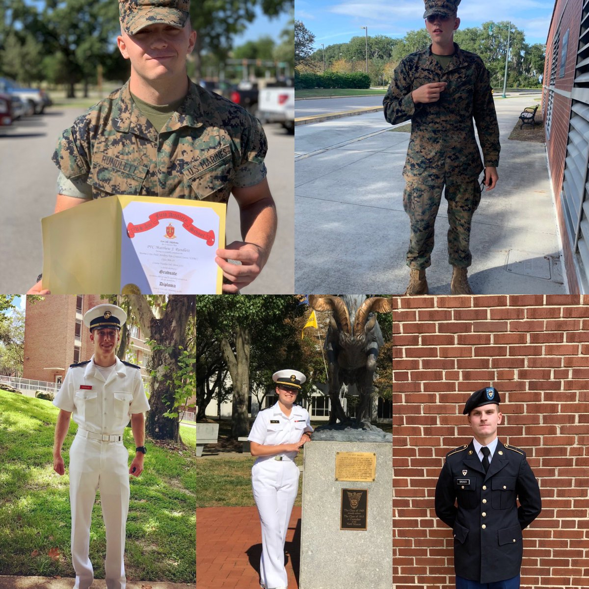 test Twitter Media - We  are🙏for all veterans & those who have recently traded Wildcat uniforms for those of the armed forces. LCpl M. Rundlett Currently Serv. USMC, Pvt N. Grader Currently Serv. USMCA.Rodriguez MIDN US Marine Corp UFL, C.Leal MIDN US Naval Academy, A. Bricker Army ROTC Cadet PSU https://t.co/Z2NjpadGin