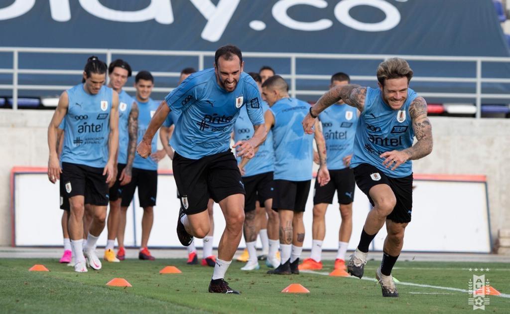 Preparando el partido 🇺🇾🇺🇾🇺🇾 #UruguayNoma