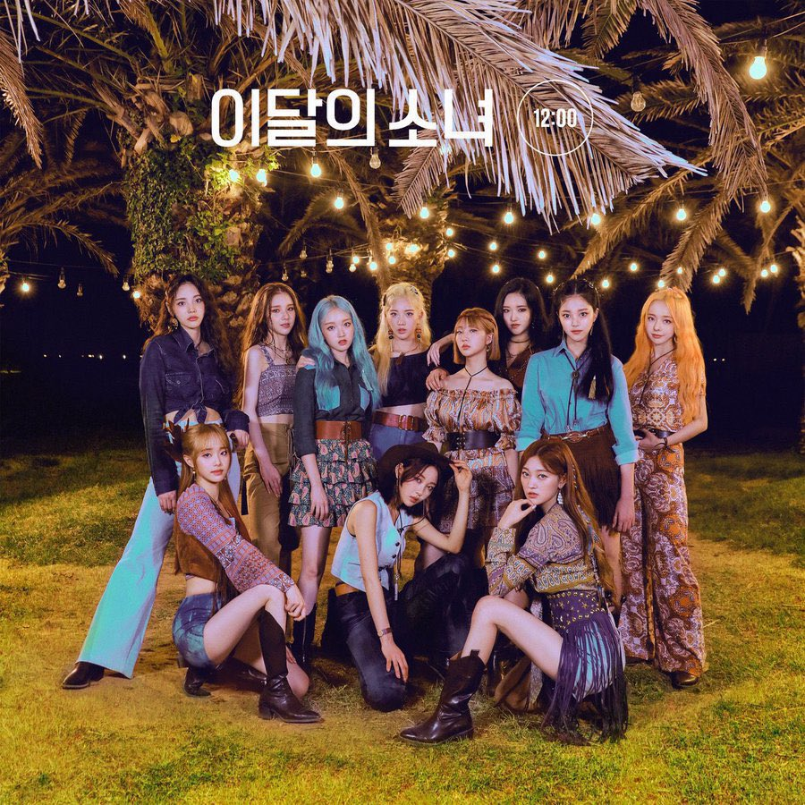#LOONA [12:00] at #9 for Gaon Album Chart for October with 85,627 copies! This now becomes their best selling album on Gaon 🤍 #이달의소녀 @loonatheworld