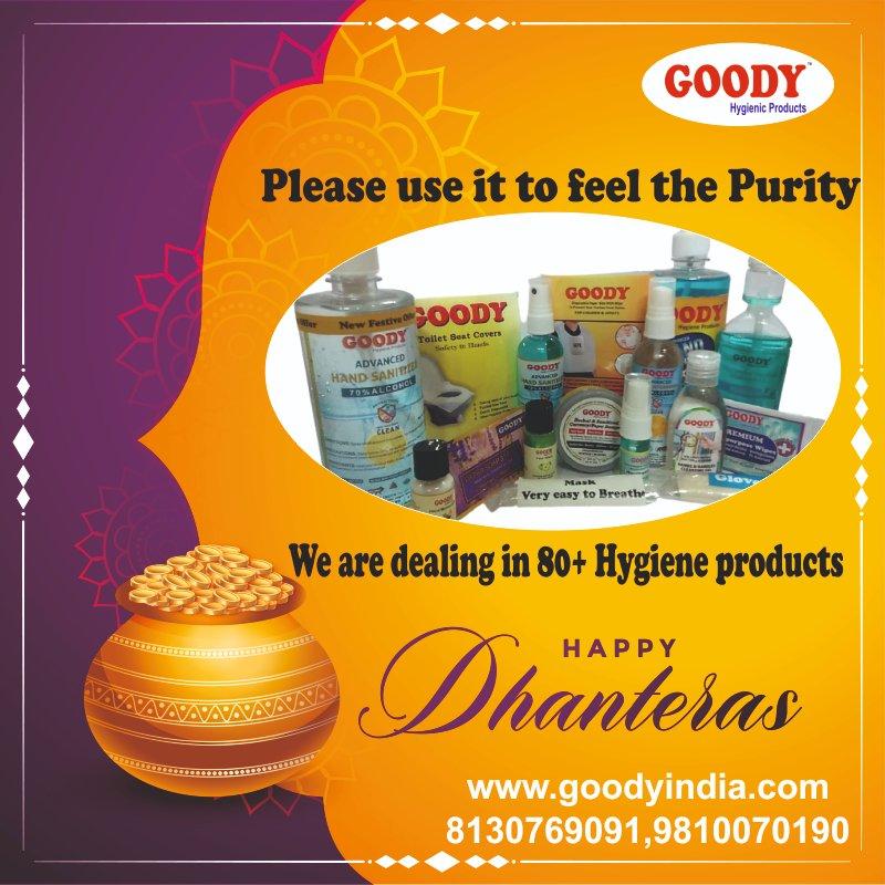 Happy Dhanteras From Goody India https://t.co/GxMfEy0HEk https://t.co/J9IUJCIm1u