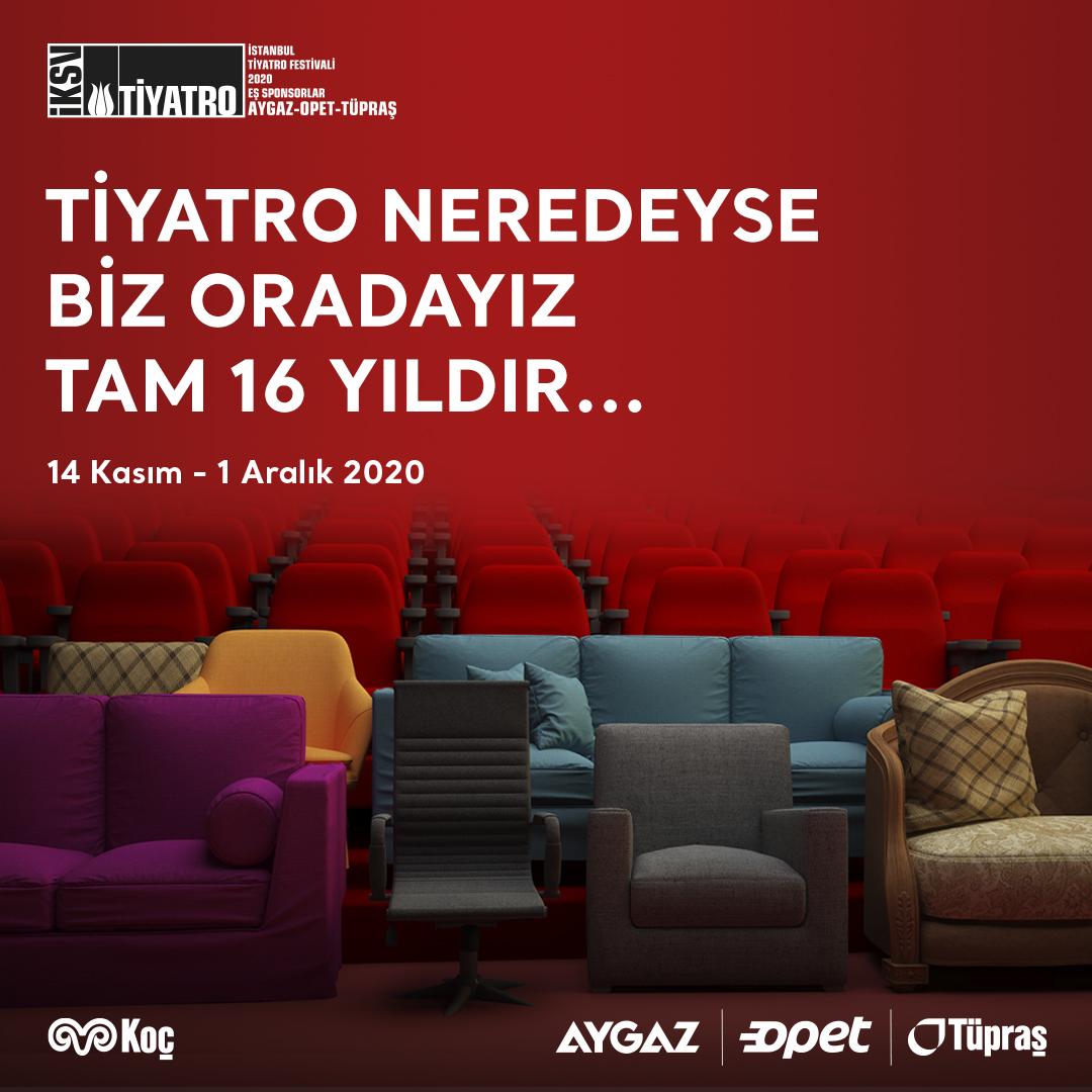 Bu yıl salonlardaki gösterimlerin yanı sıra çevrim içi gösterimlerle evlerimize de konuk olarak tüm Türkiye'yi dev bir tiyatro salonuna dönüştürecek İstanbul Tiyatro Festivali'ni 16 yıldır desteklemekten gurur duyuyoruz.