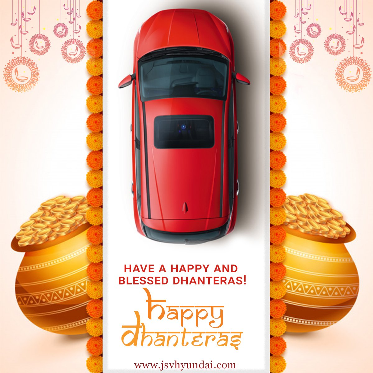 On the auspicious day of Dhantrayodashi,  here's wishing you  good health and wealth in abundance.  #HappyDhanteras #TheAllNewi20 #HappyNavratri #Lucknow #HyundaiCares #WePledgeToBeSafe #StayHome #StaySafe #JSVHyundaiShowroom #Grandi10NIOS  #Elitei20 #NewCreta2020 #Automobile https://t.co/nZcLWq3bGj