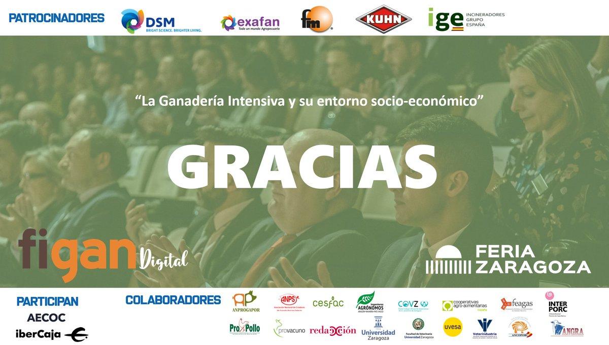 """Desde #figan queremos agradecer a las empresas patrocinadoras de la """"Jornada Técnica Digital"""" @DSMFeedTweet @EXAFAN_oficial ,@fmgrupo, @KUHN_Iberica , @IGEIncineradores, a los participantes @AECOC e @ibercaja y a todos colaboradores. Nos vemos en #figan2021 en @feriadezaragoza https://t.co/MmOTgfdVgc"""