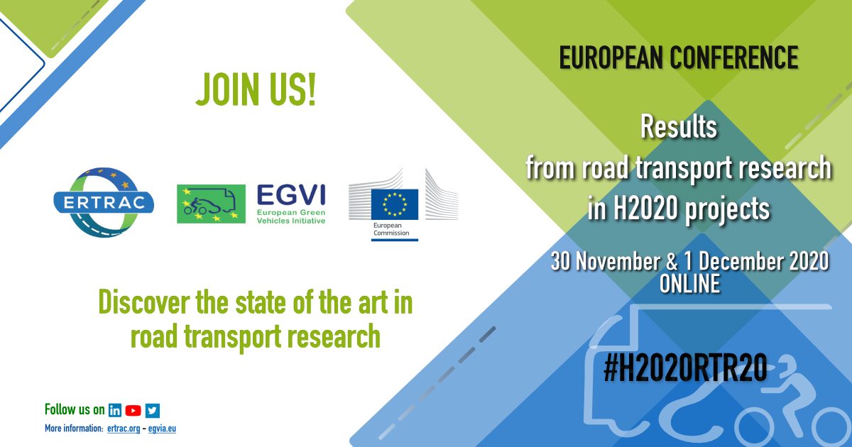The main @SUaaVE_project results so far will be showed at #H2020RTR20 conference. Join this important meeting in the field of road transport research. #H2020Transport @inea_eu