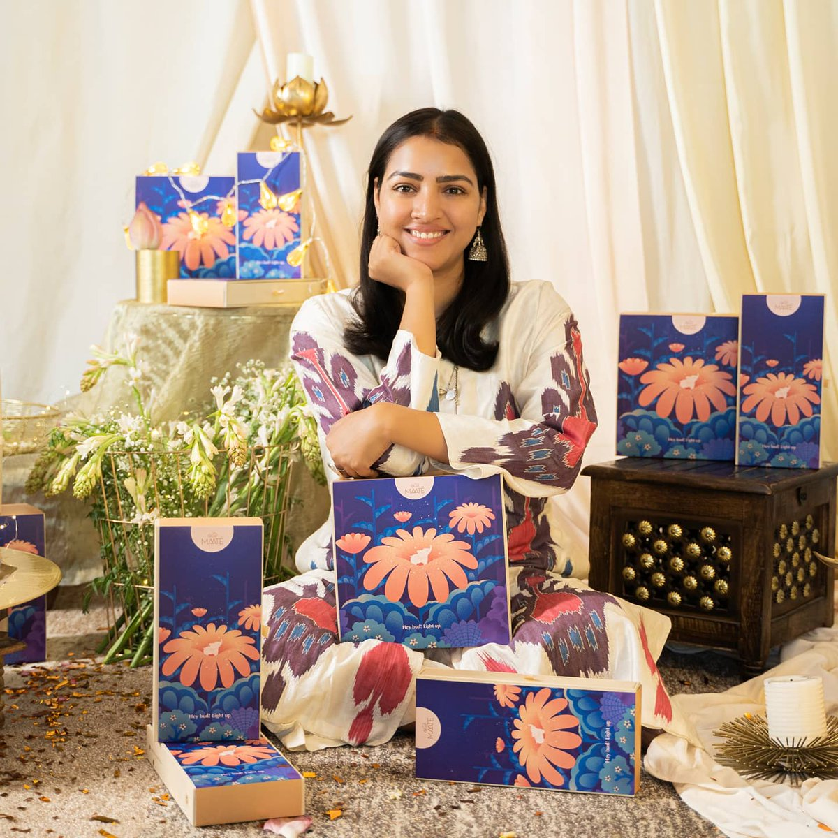 """Being a mother and a founder of a baby care brand makes me want to explore more and more ways through which I can bring in the sweet rituals into #MAATÉ to teach my little ones the importance of traditions."" Founder, MAATÉ @PriyankaCRaina   Read more:"