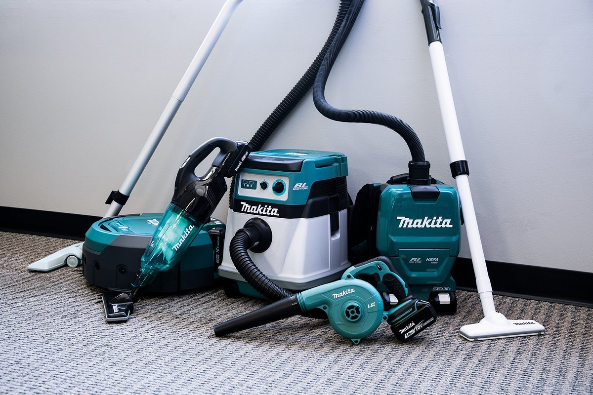 Cordless cleaning products deliver convenience, efficiency, and productivity. Be sure to check out these products and more at ISSA next week!   #makitausa #makitatools #cordlessvacuum #cordlessbackpackvacuum #vacuum #cordlessblower #issashow
