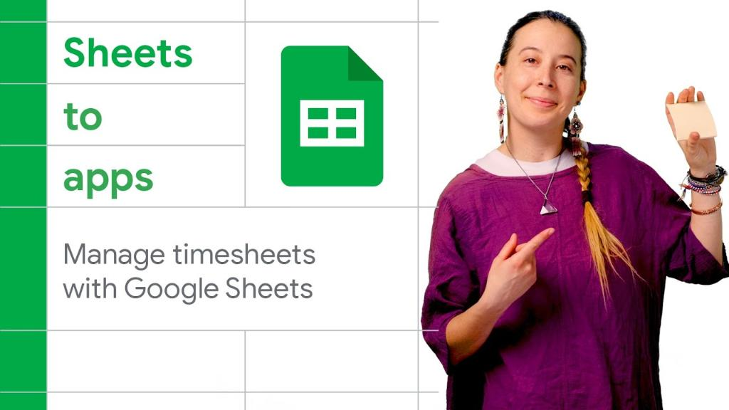 ✅ Approving timesheets?   Build a payroll app that makes approving timesheets simple and communication with management seamless using Apps Script and Google Sheets.   Watch how → https://t.co/5jTSzKzUqB https://t.co/T0W92UeU8x