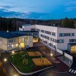 Image for the Tweet beginning: Karhusuon koulu Espoossa otettiin käyttöön