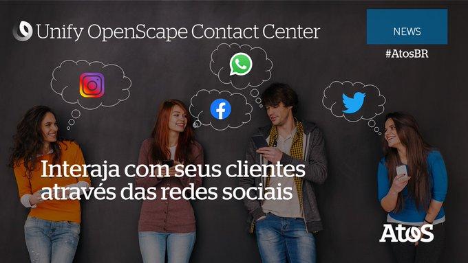 Com a solu??o Unify OpenScape #ContactCenter, você pode gerenciar todas as intera??es da su...