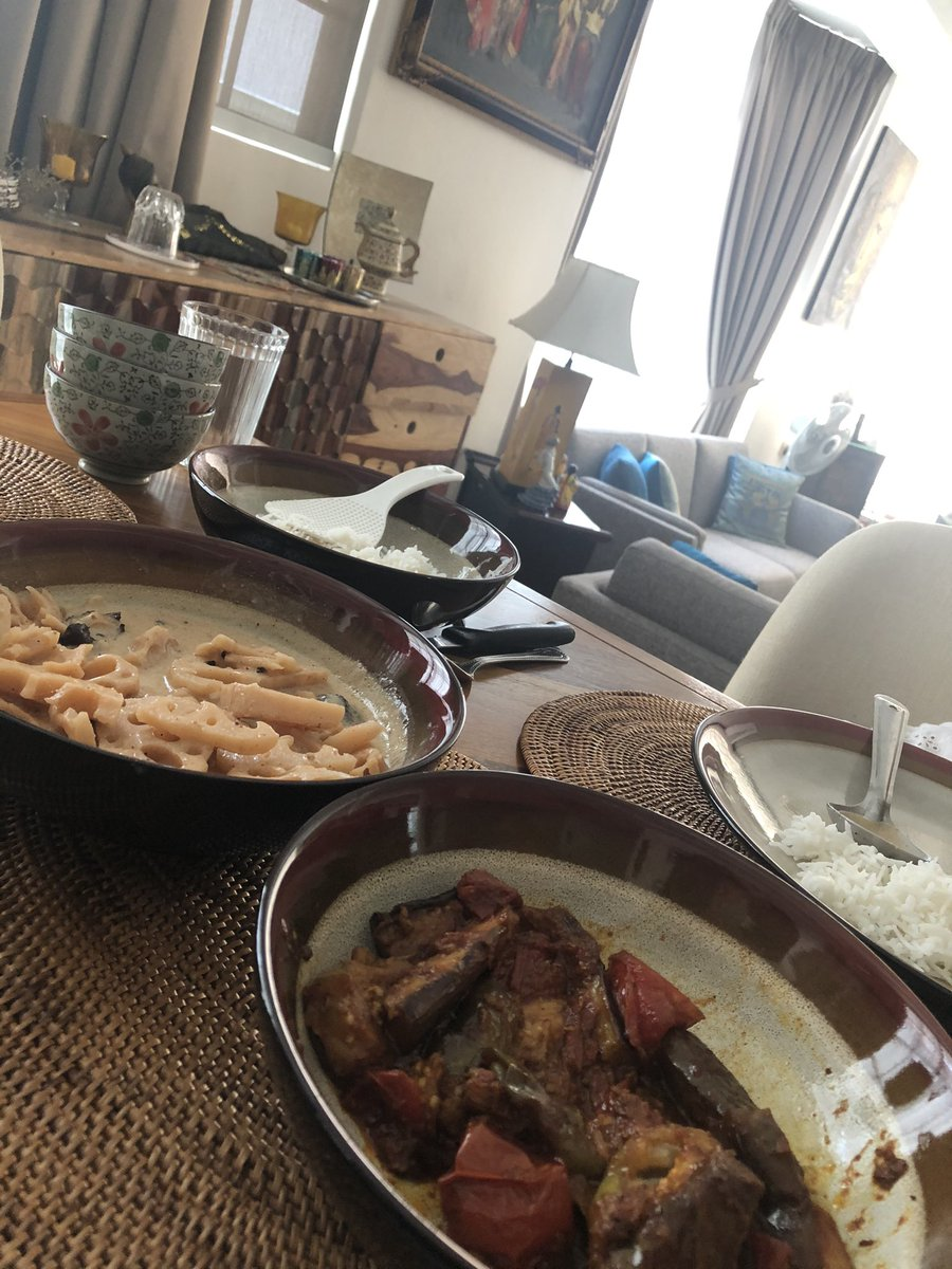 So my Kashmiri wife has cooked these two Kashmiri dishes. Anyone can guess the names?
