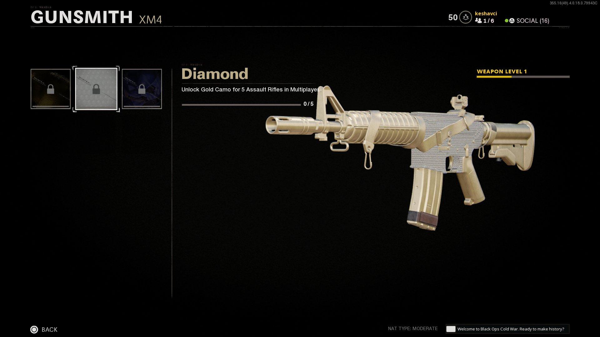 black ops cold war diamond camo