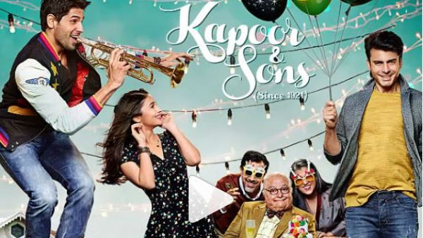 #KapoorAndSons #Ratings: ⭐⭐⭐⭐ #OneWordReview: W-I-N-N-E-R The film has unexpected drama twists and challenges! Fawad Khan's performance is brilliant! The film achieves to convey the emotions directly to the audiences' heart! Overall, the film is a winner!