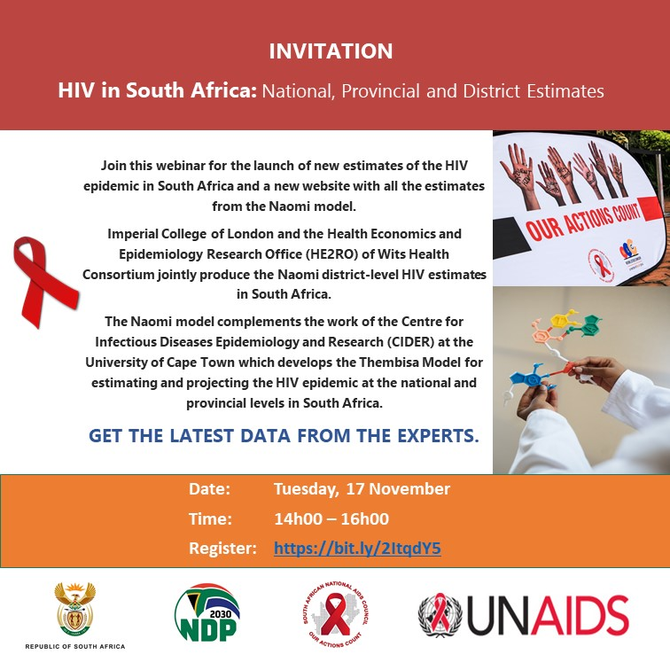 #WebinarAlert WATCH the live stream NOW on our Facebook page. Here's the WATCH LINK: https://t.co/BmCx9chJHx If you have not registered, you can still do so on this link: https://t.co/0yfRHVZJ8W REGISTRATION is instant! @UNAIDS_ZAF @HealthZA
