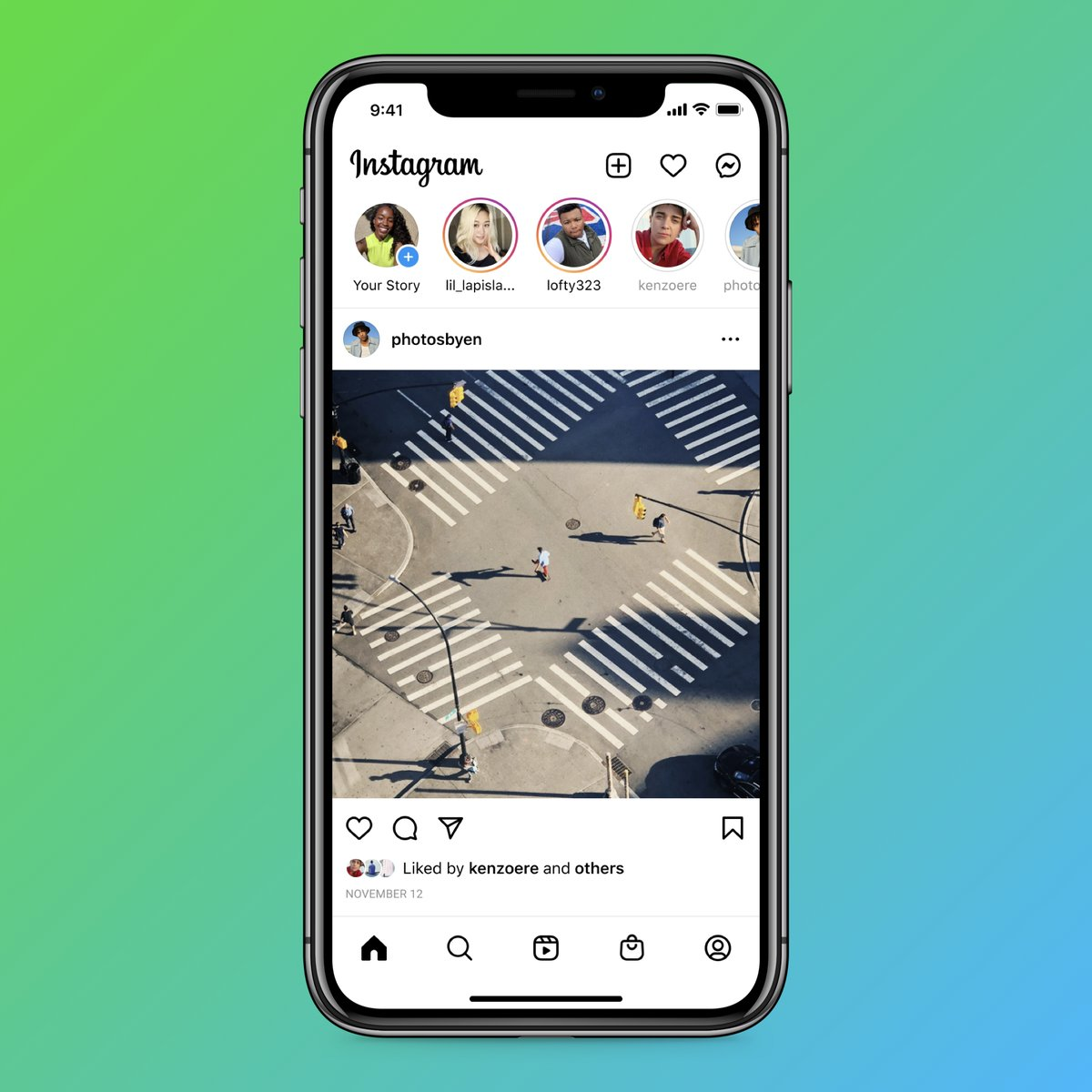 Some changes are coming to Instagram 👀  Today you'll start seeing a Reels tab and a Shop tab on your home screen ✨