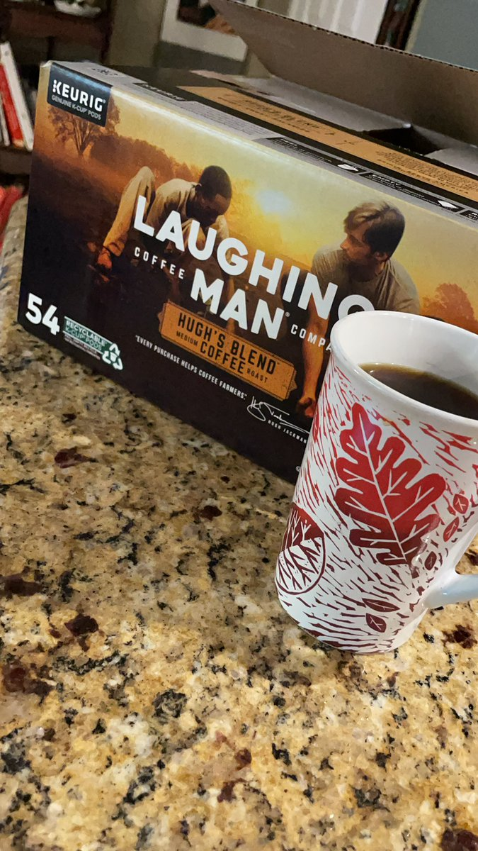 @laughingmanco @RealHughJackman just got this coffee @SamsClub and said I'll try it !! Wow I highly recommend it !! My go to #coffee #coffeetime #LaughingManFoundation
