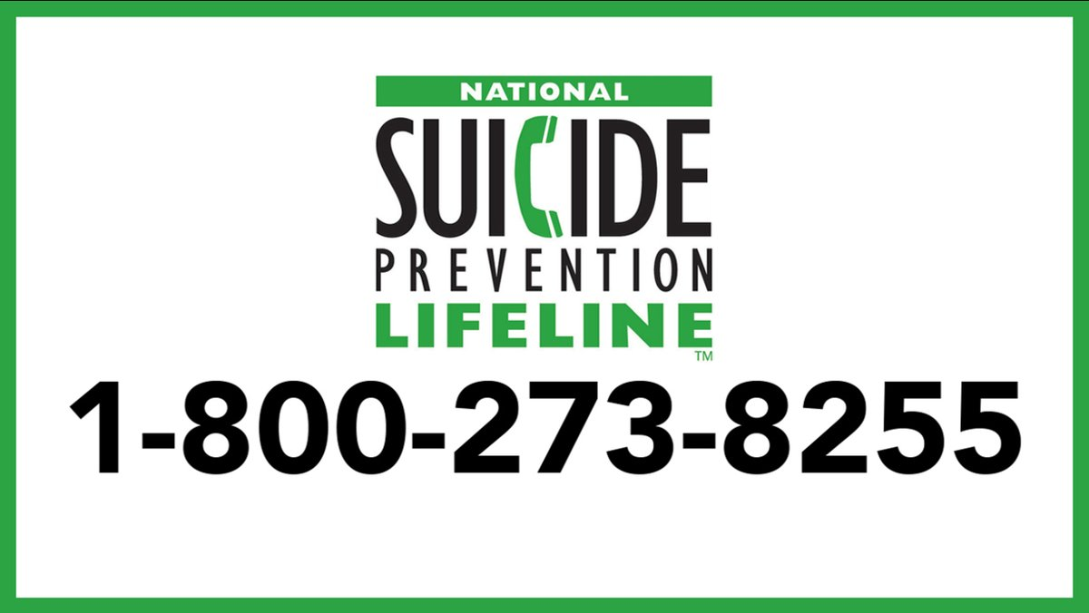 Suicide figures are up. You are Not Alone. Call 1-800-273-8255 (USA hotline)