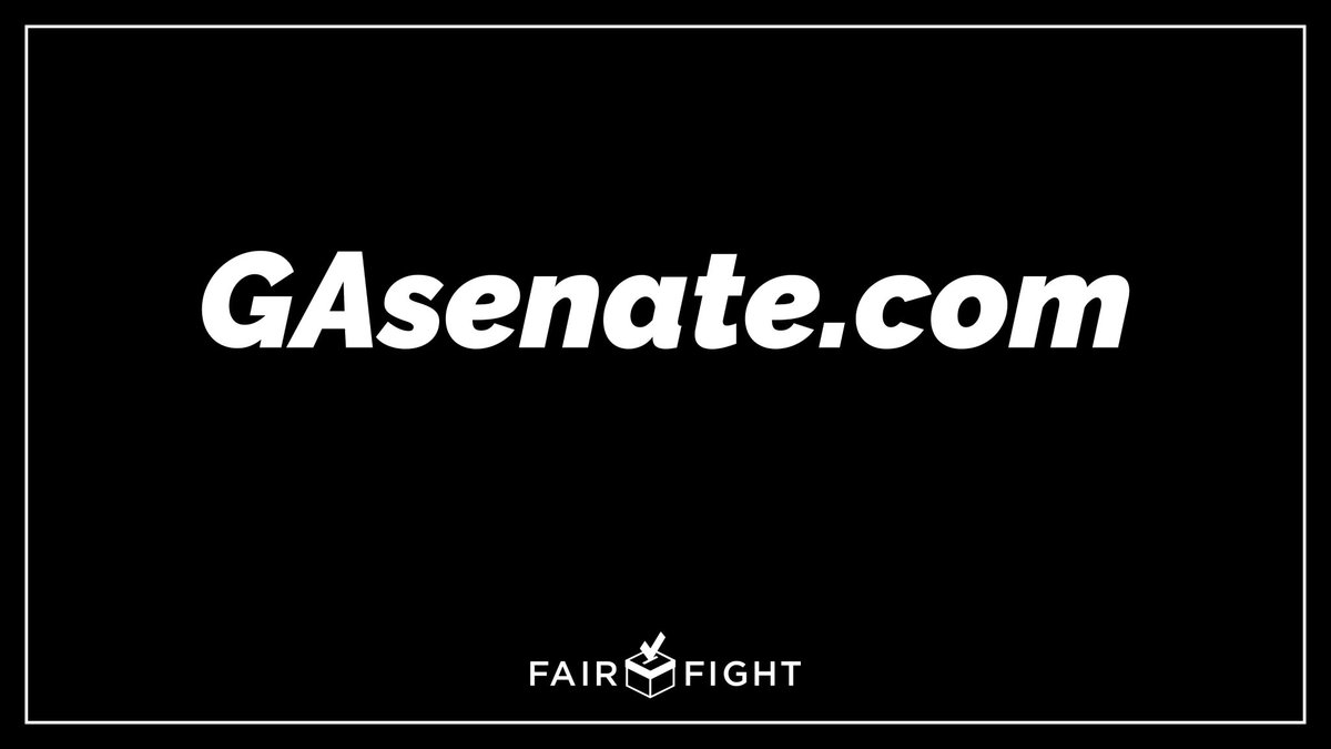 BREAKING: In just 5 days, 125,000 supporters and counting have contributed to @fairfightaction and the @ReverendWarnock and @ossoff January 5 runoff efforts.  Join us and help get it done — again. Help us win a Senate majority at . #gapol