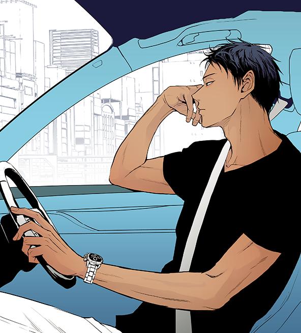 ←運転中渋滞にハマった峰 →イライラしてるか聞かれて「してませんけど?」と余裕ぶろうとしたものの顔が微妙な峰