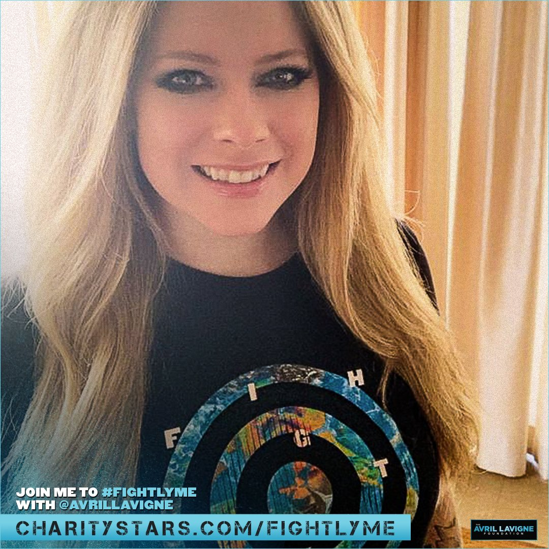We're so grateful for your support of the #LymeCommunity! Your purchase of this shirt (seen on @AvrilLavigne & friends during #FightLyme) helps us support even more individuals & families in need. Get yours now at