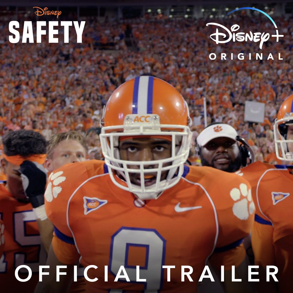 Clemson has given me the opportunity to change my life. 🎥 🍿 FIRST LOOK: Watch the brand-new trailer for Safety, the inspiring true story of Ray McElrathbey, streaming December 11 on #DisneyPlus! #SafetyMovie🏈