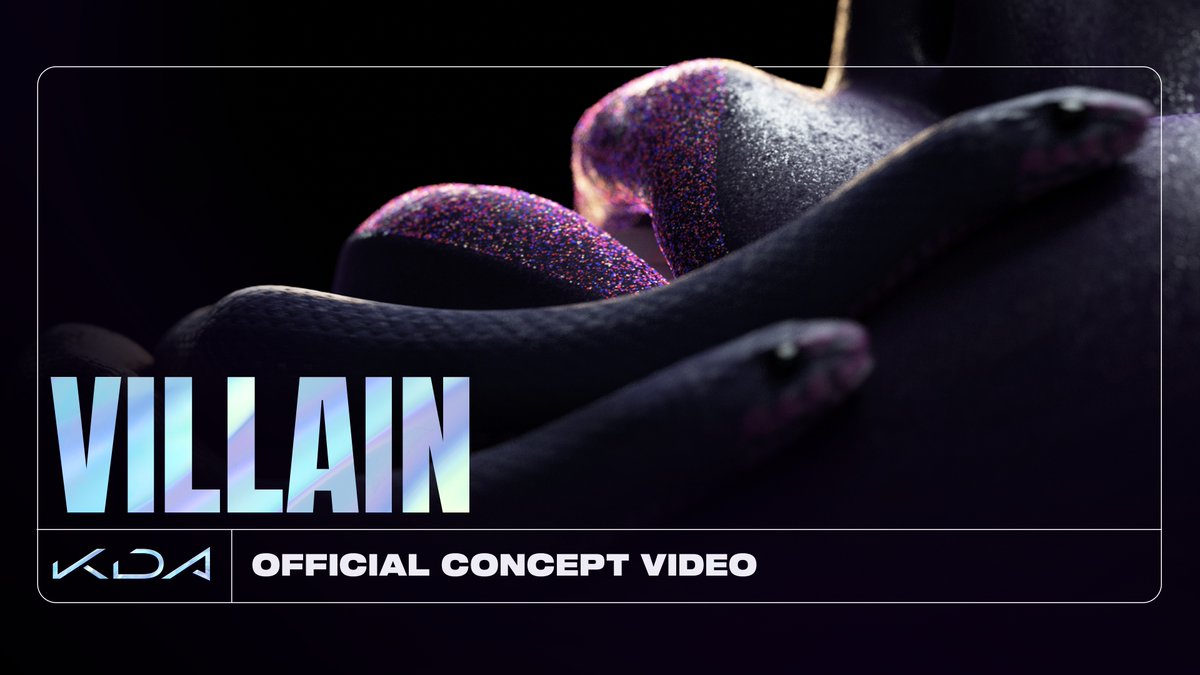 Watch the official concept video for K/DA - VILLAIN. Watch on YouTube: youtu.be/xoWxv2yZXLQ Stream ALL OUT: ffm.to/kda-allout #KDA #ALLOUT #VILLAIN