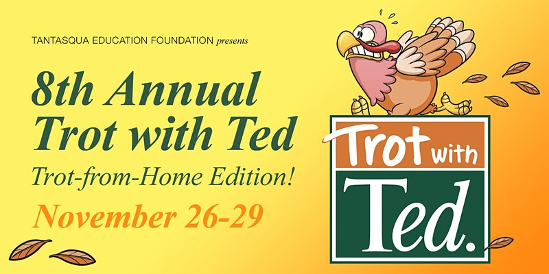 Join us for our 8th annual Trot with Ted. For more details visit: facebook.com/events/7961897… or tinyurl.com/y5xe6xkb