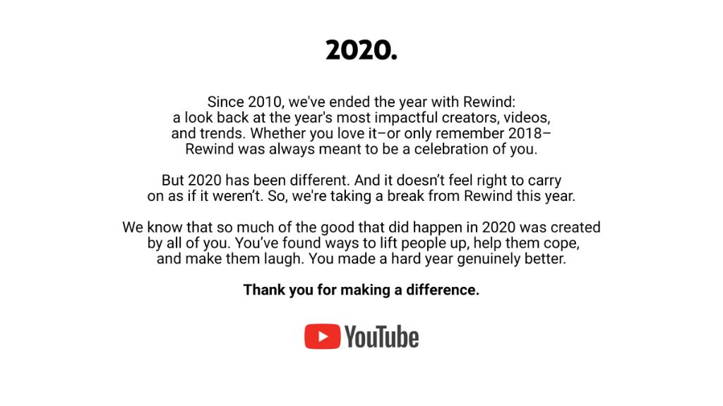 About Rewind this year.