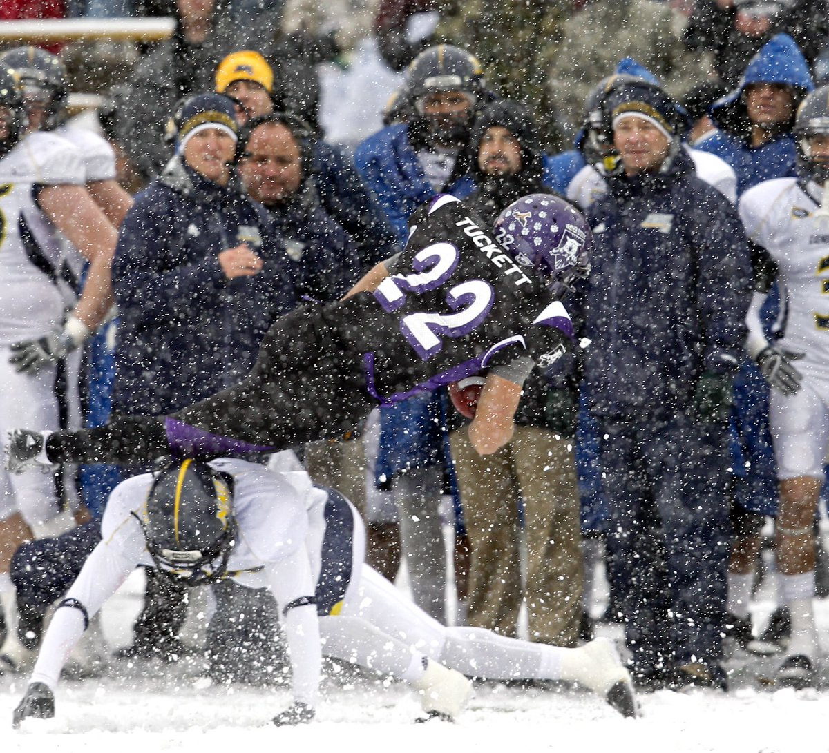Weber State Football On Twitter Onthisday In Wildcat History Nov 12 2011 Weber State Beat Nau 34 31 In A Snowy Game At Stewart Stadium Behind 254 Yards And 3 Td S