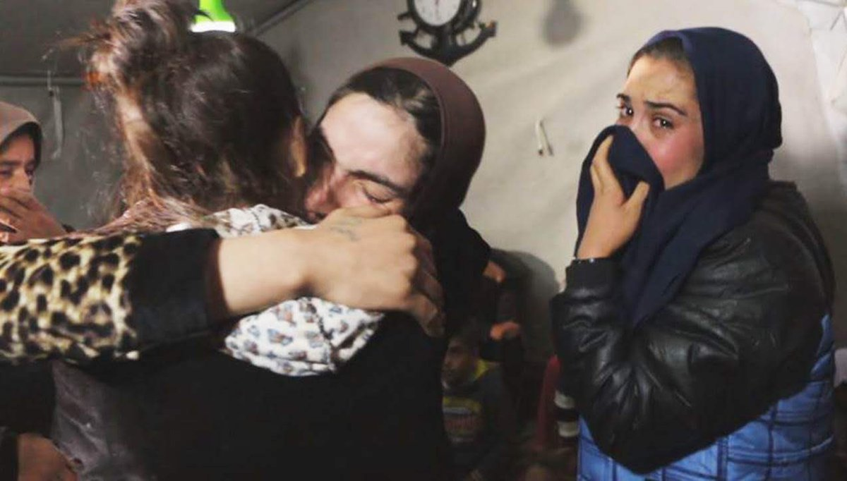 As my newborn baby died in my arms I cried out in anguish, but rather than finding sympathy, the IS terrorists beat me. A Yazidi woman survivor of Islamic State captivity