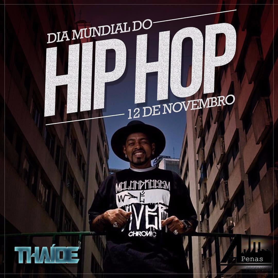 Soul do Hip-Hop #DiaMundialDoHipHop ✌🏾