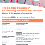 Image for the Tweet beginning: Register Now: Six Core Strategies
