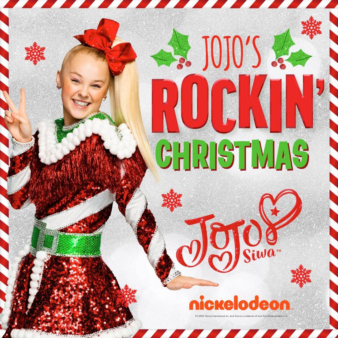 We got a nice present today for #NewMusicFriday 🎁 - @itsjojosiwa's new EP, JoJo's Rockin' Christmas!   LISTEN →