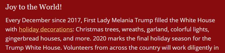 White House Red Christmas Trees Photoshop Twitter 2020 Luke Pebody (@lukepebody)   Twitter
