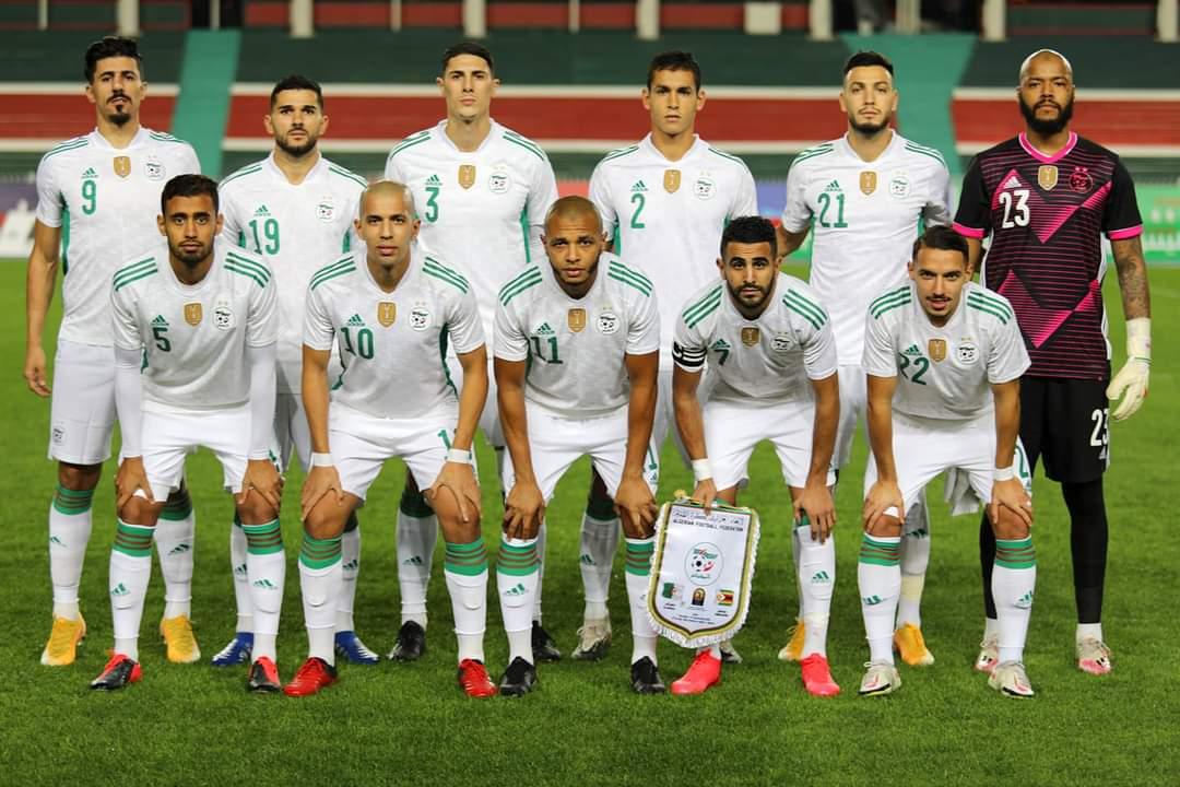 منتخب الجزائر يكتسح منتخب زيمبابوي بثلاثية في تصفيات كأس أمم أفريقيا