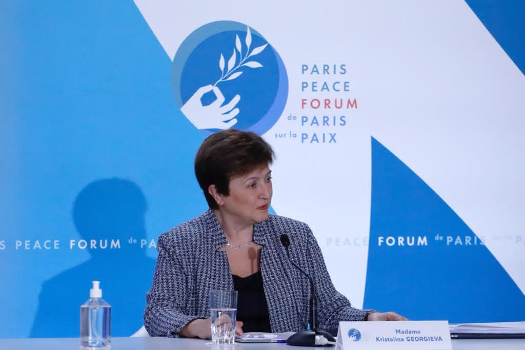 [4/4] Read my remarks at the 2020 #ParisPeaceForum: ow.ly/BCL250Cj7IF