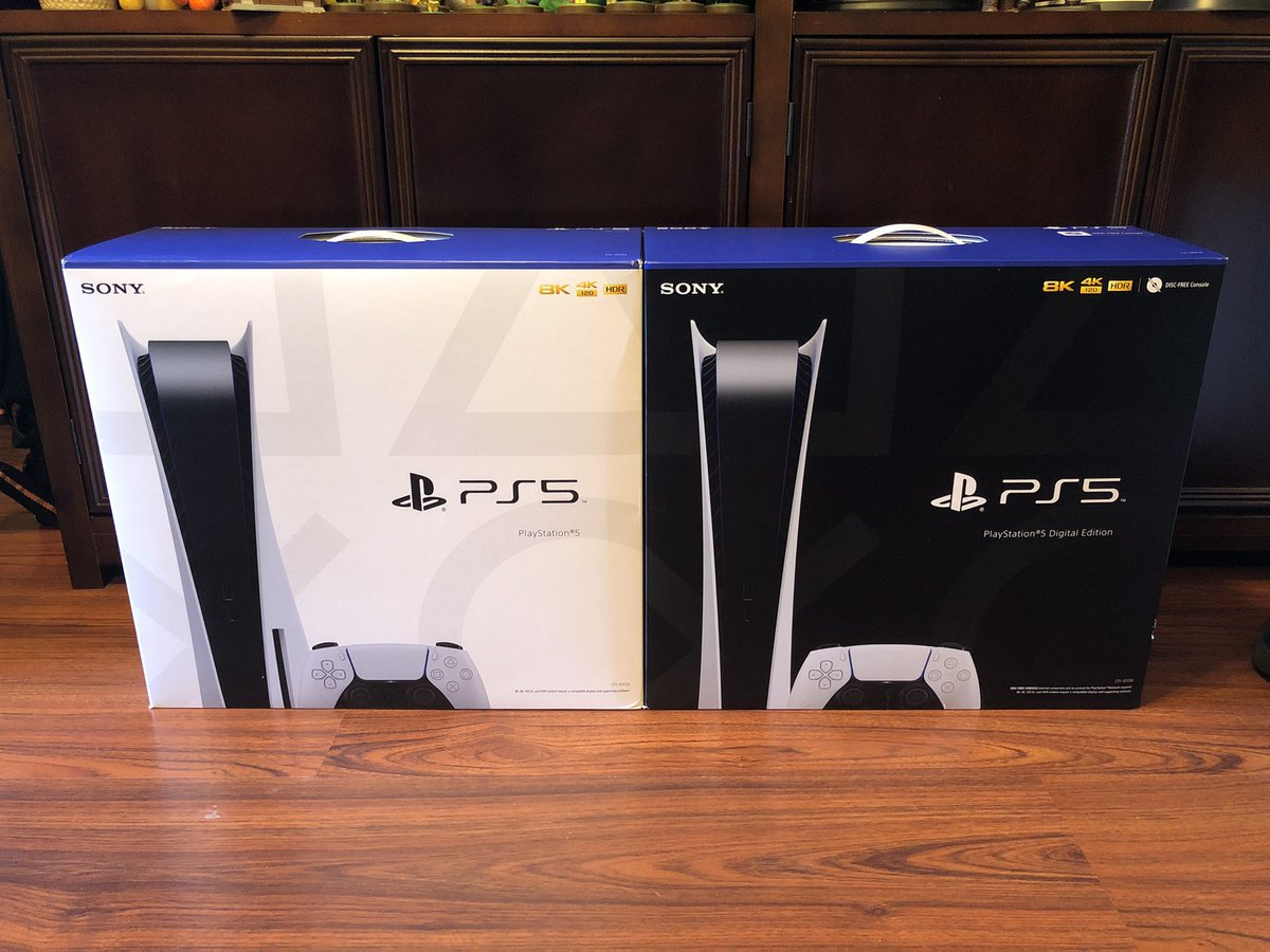 hlions - So @TheTwitchPanda and I got our PS5s in today. If you didn't take a picture and post it, did you really get yours?