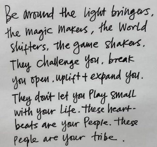 💡🔮🌎❤️ Your vibe attracts your tribe. #ThankfulThursday