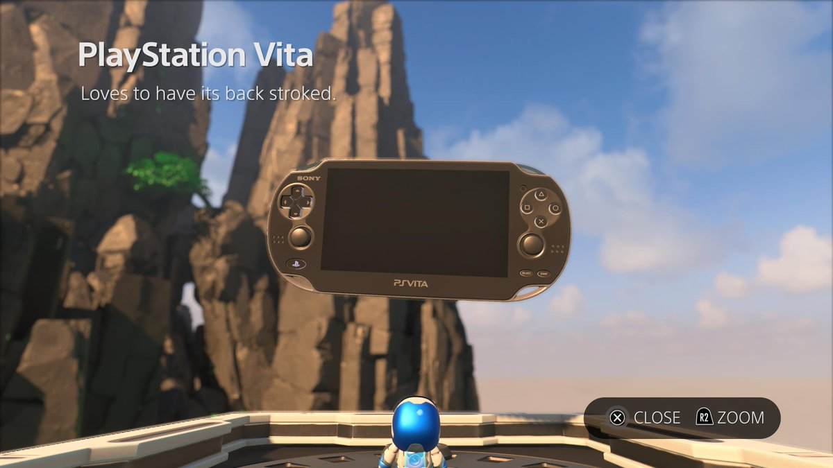 Wario64 On Twitter Vita Means Life Ps5share Astrosplayroom