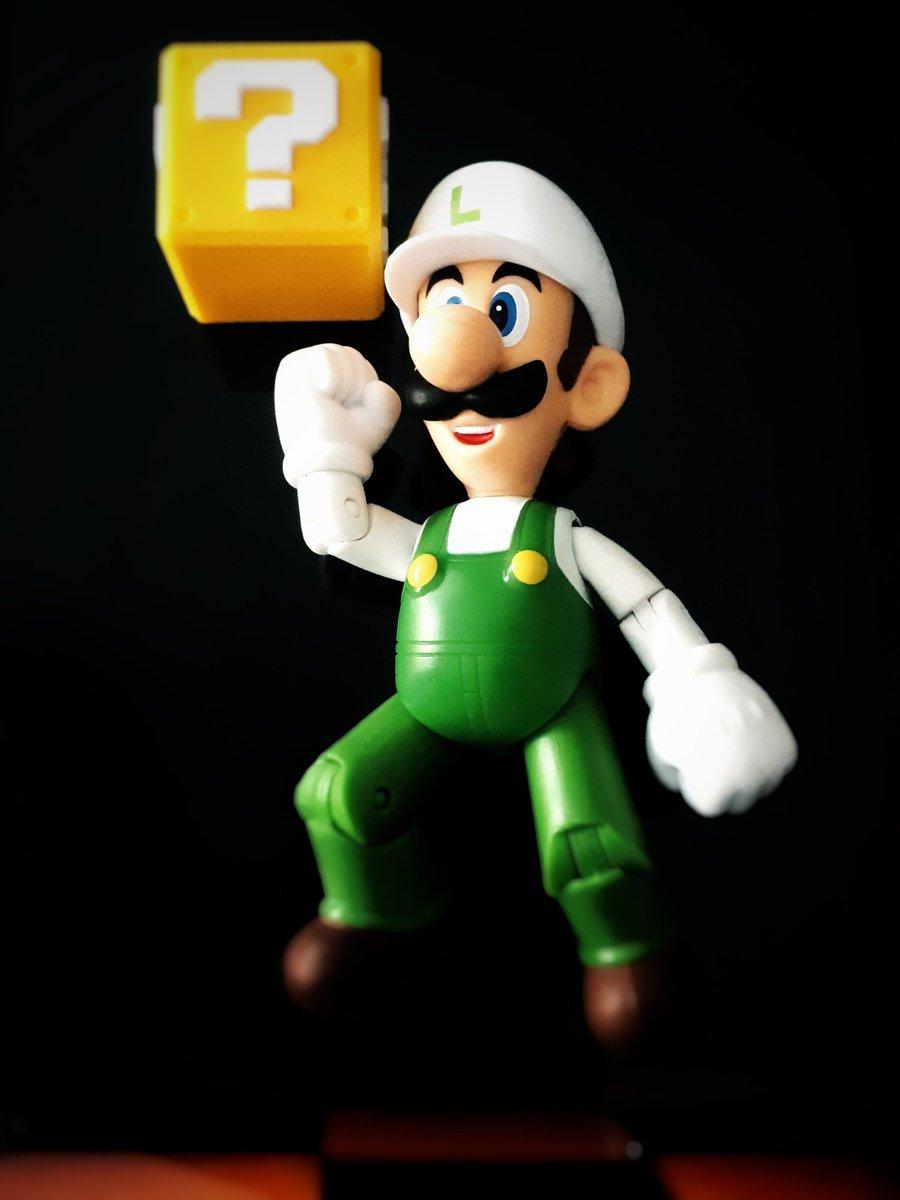 """What's In The Box?"" 📦  #ActionFigures #ActionFigurePhotography #Gamers #GamersUnite #Luigi #Mario #Nintendo #SuperMario #SuperMarioBros35 #ToyPhotography   Special thanks to @JakksToys"