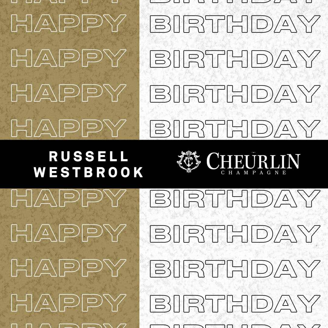 Join the NBPA and @Cheurlin1788 family in wishing @russwest44 a very special birthday! 🍾 #Cheurlinmoments #Cheurlin1788