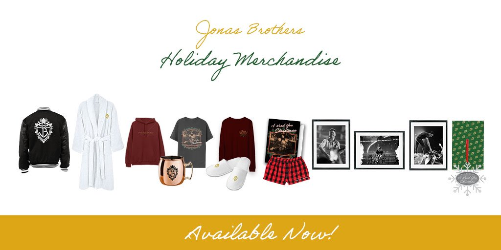 It's the most wonderful time of the year… ❄️🎁🎄  Grab EXCLUSIVE Holiday Merch at  now!
