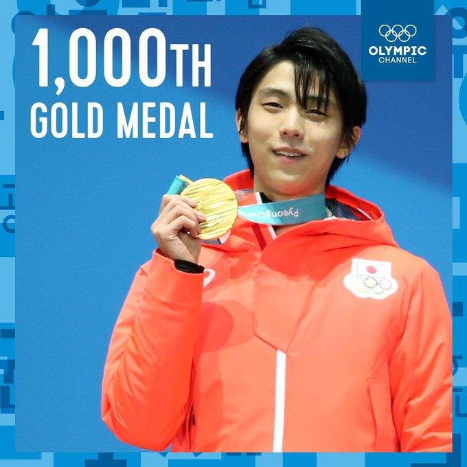 YuzuNews dal 11 al 20 novembre Yuzuru Hanyu Gold Medal PyeongChang 1000