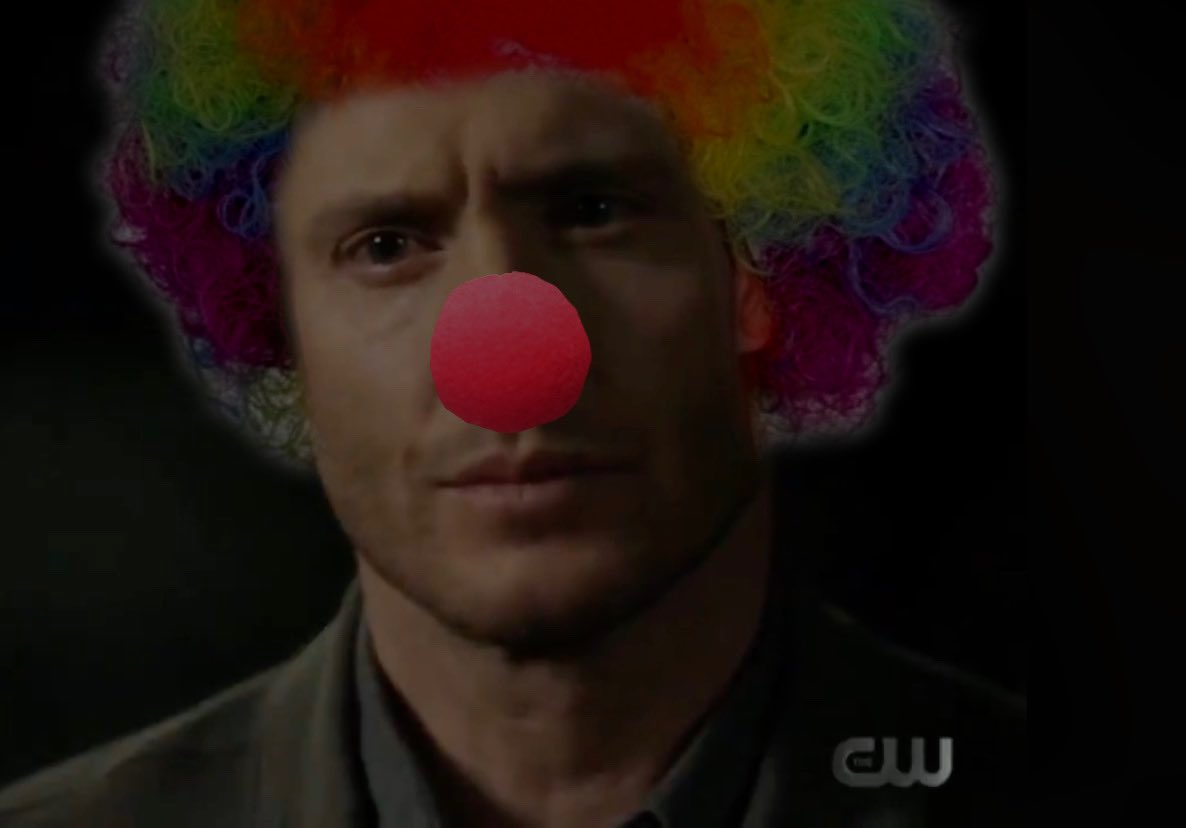Actual photo of me watching #Supernatural hoping that we were getting Dean to admit to his feelings for Cas