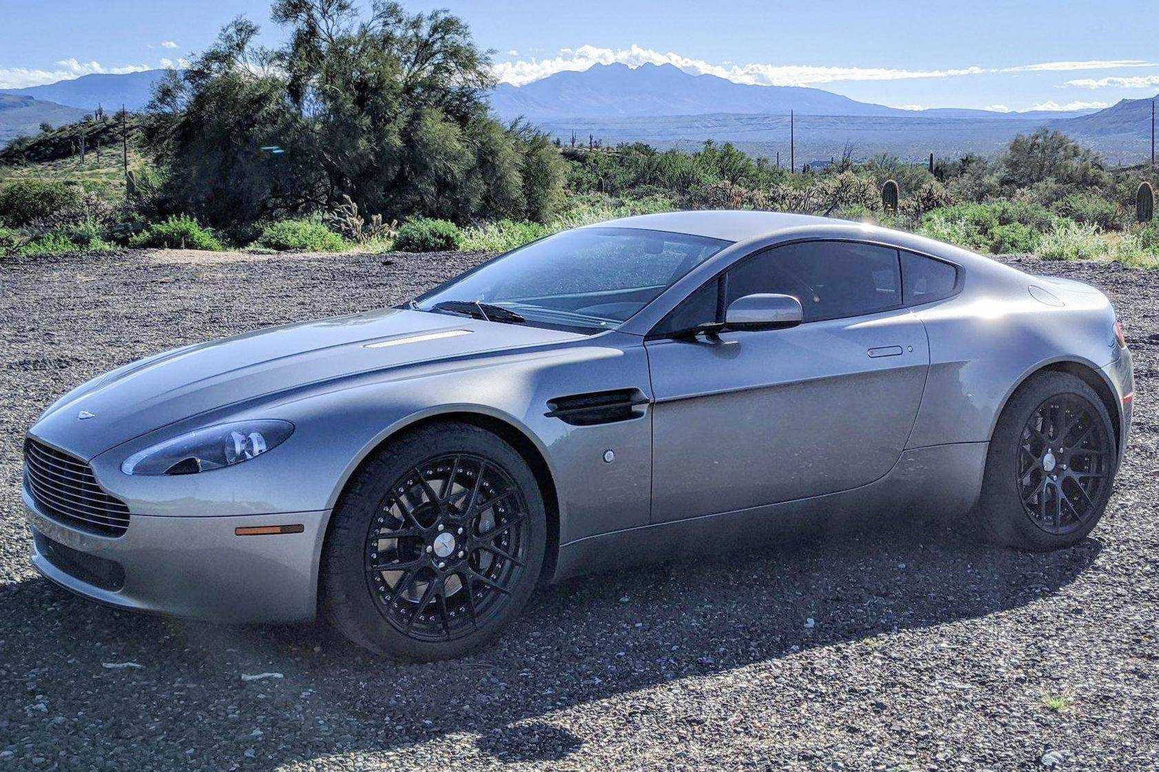 Doug Demuro On Twitter Nice Carsandbids Listing 2007 Aston Martin V8 Vantage 6 Speed Manual And No Reserve We Ve Been Very Successful With These As They Re Total Bargains For An Exotic Sports