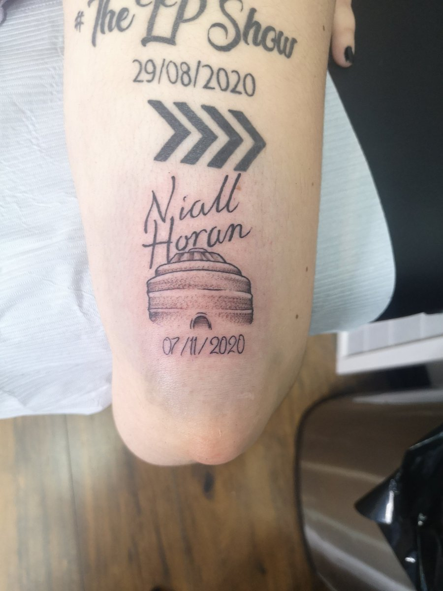 @NiallOfficial i just got this bad boy done, i will always remember your show at the @RoyalAlbertHall #NiallLiveAtRAH #NiallLiveAtAlbertHall #NiallLiveAtRoyalAlbertHall