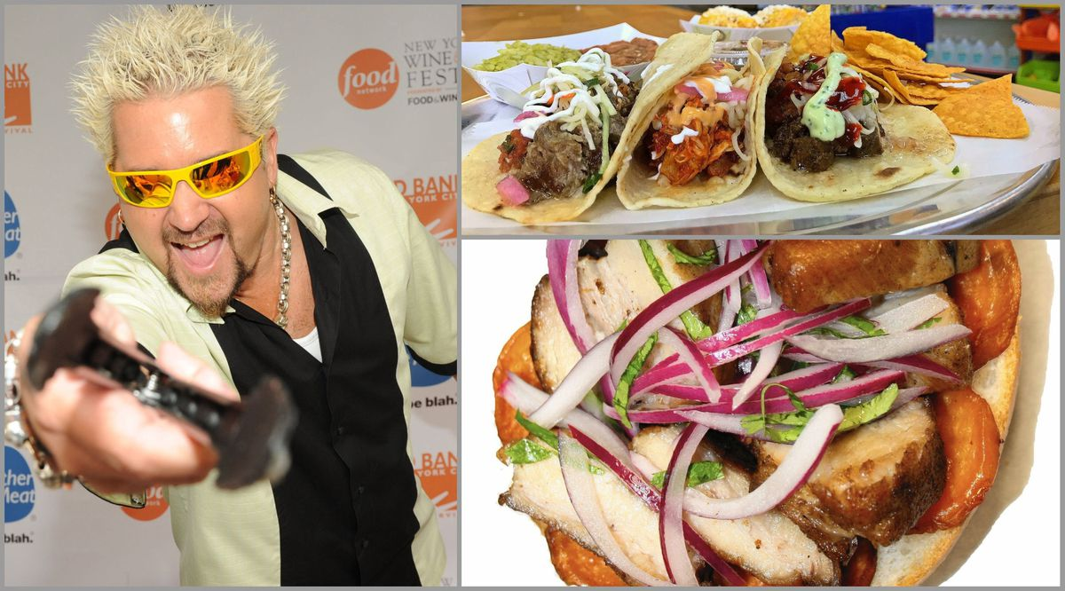 "Guy Fieri's ""Diners, Drive-Ins and Dives"" features J28 in Hollywood and Los Bocados in Parkland"