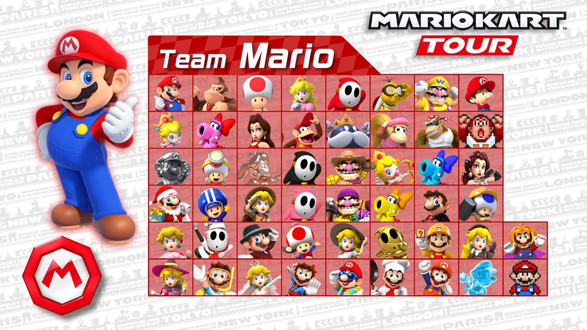 A retweet campaign has begun for the #MarioKartTour Mario vs. Luigi Tour! Retweet this video if you're for #TeamMario. Players will get coins equal to the total number of retweets! (Total of English and Japanese tweets for both teams. Max coins: 10,000. Until Nov. 15.)