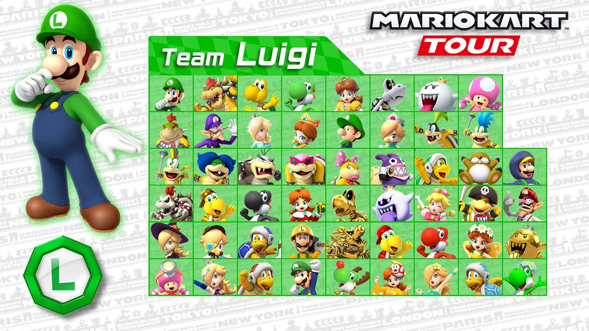 A retweet campaign has begun for the #MarioKartTour Mario vs. Luigi Tour! Retweet this video if you're for #TeamLuigi. Players will get coins equal to the total number of retweets! (Total of English and Japanese tweets for both teams. Max coins: 10,000. Until Nov. 15.)